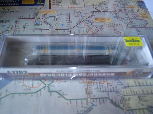 マイクロエース EF65-1012 初期型JR貨物更新機_f0037227_21363145.jpg