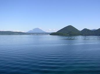 洞爺湖と羊蹄山_f0078286_1334890.jpg
