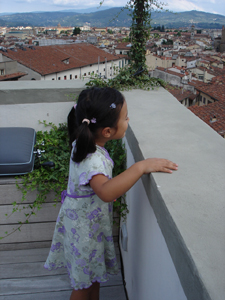 フィレンツェでとびきり贅沢な眺め~アパート、トッレ・スイート_f0106597_1310837.jpg