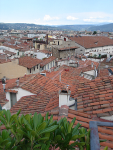 フィレンツェでとびきり贅沢な眺め~アパート、トッレ・スイート_f0106597_1312380.jpg