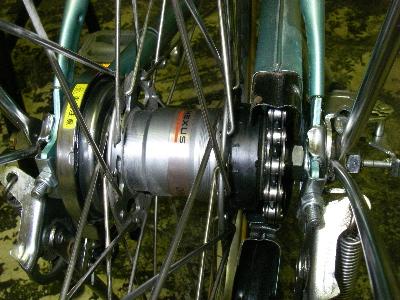 自転車の 自転車 チューブ交換 ママチャリ : ママチャリの後輪タイヤ交換と ...