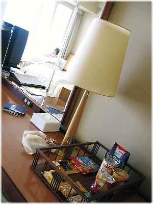【琵琶湖ホテルの部屋と眺め】_b0009849_14473413.jpg
