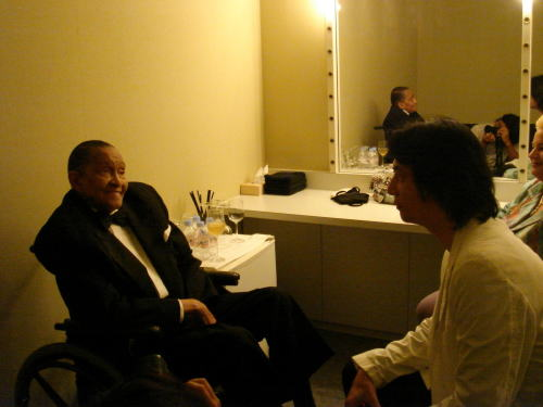 2007-09-03 Jimmy Scott@「ブルーノート東京」_e0021965_1949157.jpg