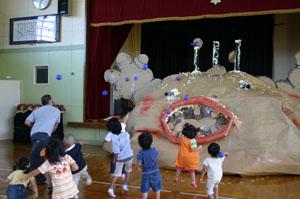 2007年9月4日(火) ゴミゴミ怪獣と遊ぶ!?_a0062127_20314264.jpg