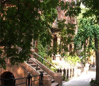住宅街までロマンチックな秋のニューヨーク_b0007805_1252236.jpg