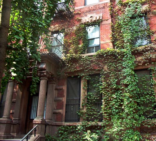 住宅街までロマンチックな秋のニューヨーク_b0007805_1323471.jpg