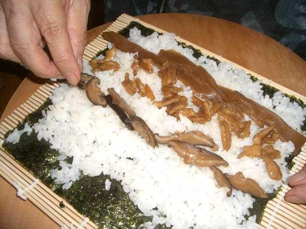 新潟と静岡のコラボ、胡桃寿司 その2_a0095931_15442963.jpg