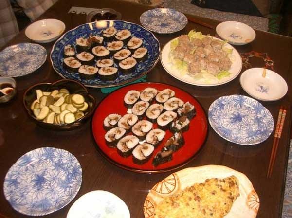 新潟と静岡のコラボ、胡桃寿司 いただきます!!_a0095931_1682717.jpg