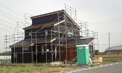 完成も近い旧赤堀町現場 I 様邸_a0084859_1138117.jpg