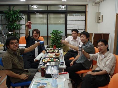 辻君歓迎会!_d0061857_21432266.jpg