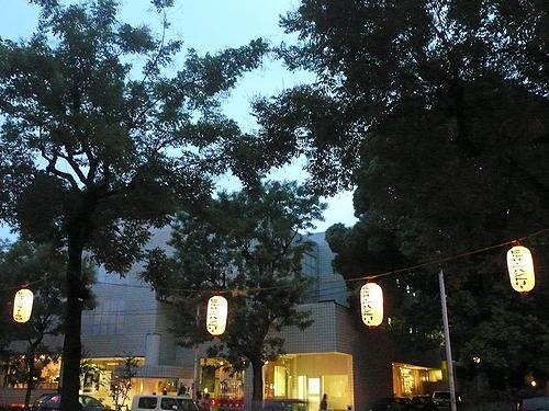 代官山の秋祭り   代官山 カフェ ミケランジェロ。..。.゚。*・。♬♪ _a0053662_1357910.jpg