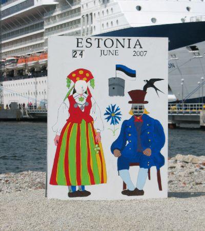船の旅 (6月24日)タリンの観光( エストニア)_e0098241_10443417.jpg
