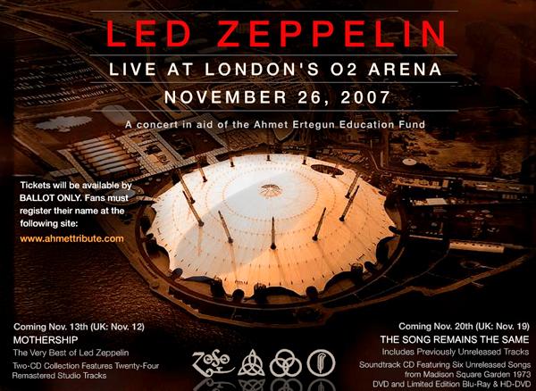 Led Zeppelin ロンドンで一回限りの再結成 2007/11/26_a0003650_10282744.jpg