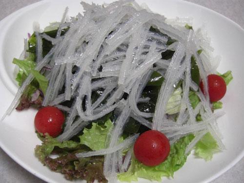 糸寒天サラダ