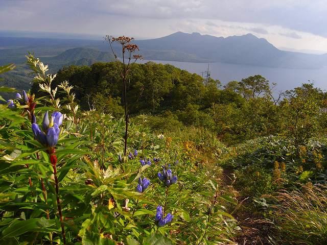 9月13日、樽前山、イチャンコッペ山と紋別岳を登る_f0138096_1956490.jpg