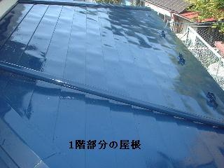 屋根塗装2日目_f0031037_174672.jpg