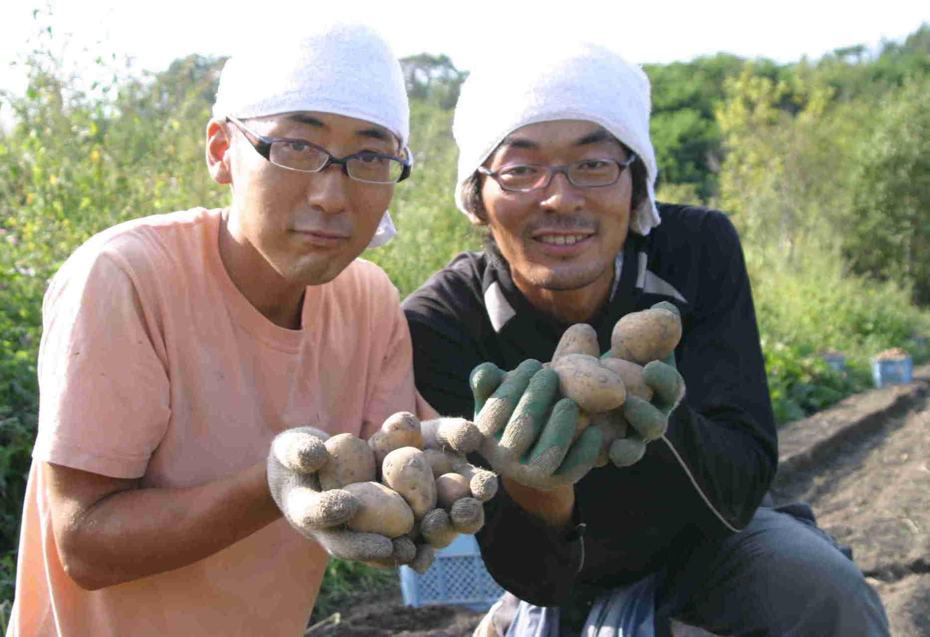 9月14日(FRI) 晴れ ジャガイモの試し掘り_a0103738_15353096.jpg