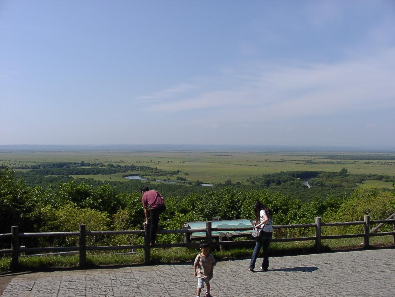 釧路湿原 (気をつけて落ちないでね) 9月14日_f0113639_15274180.jpg