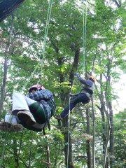 ツリークライミング体験記-わたしでも登れました!-_f0019247_0164139.jpg