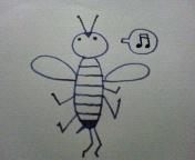 蜂のヒトサシは難しい_b0102193_21315510.jpg