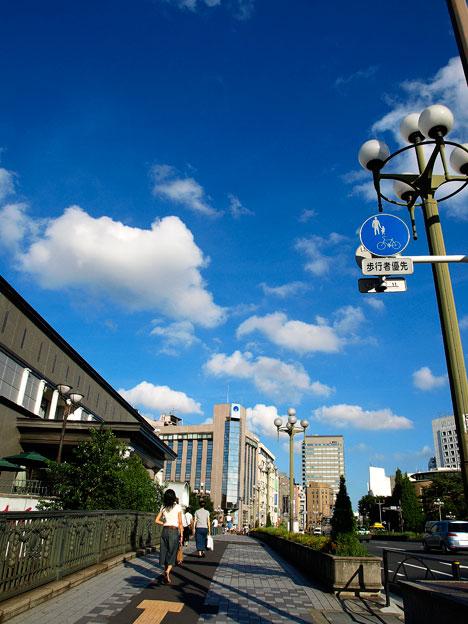 東京の 空も青空 秋の雲_a0031363_2356145.jpg