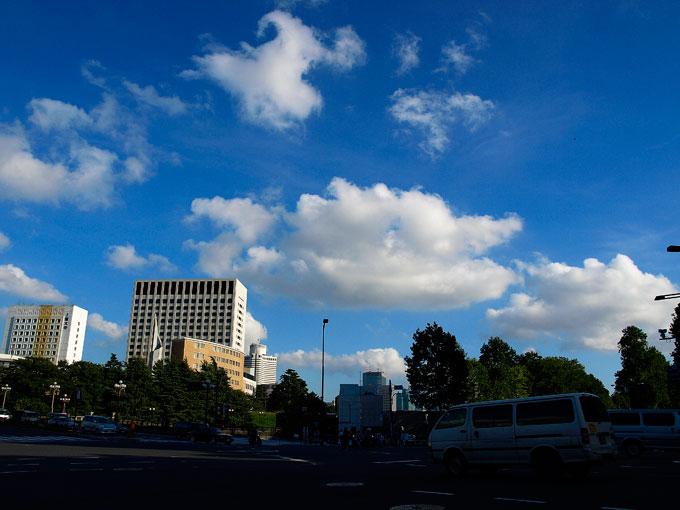 東京の 空も青空 秋の雲_a0031363_23562936.jpg