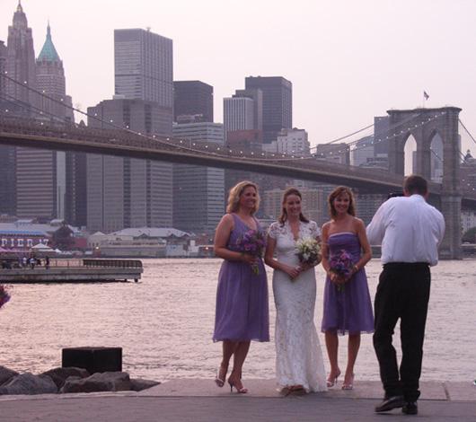 ブルックリン・ブリッジ・パークで見かけた幸せなひととき_b0007805_9222159.jpg