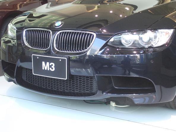 BMW M3 特別展示会_a0042970_12385366.jpg