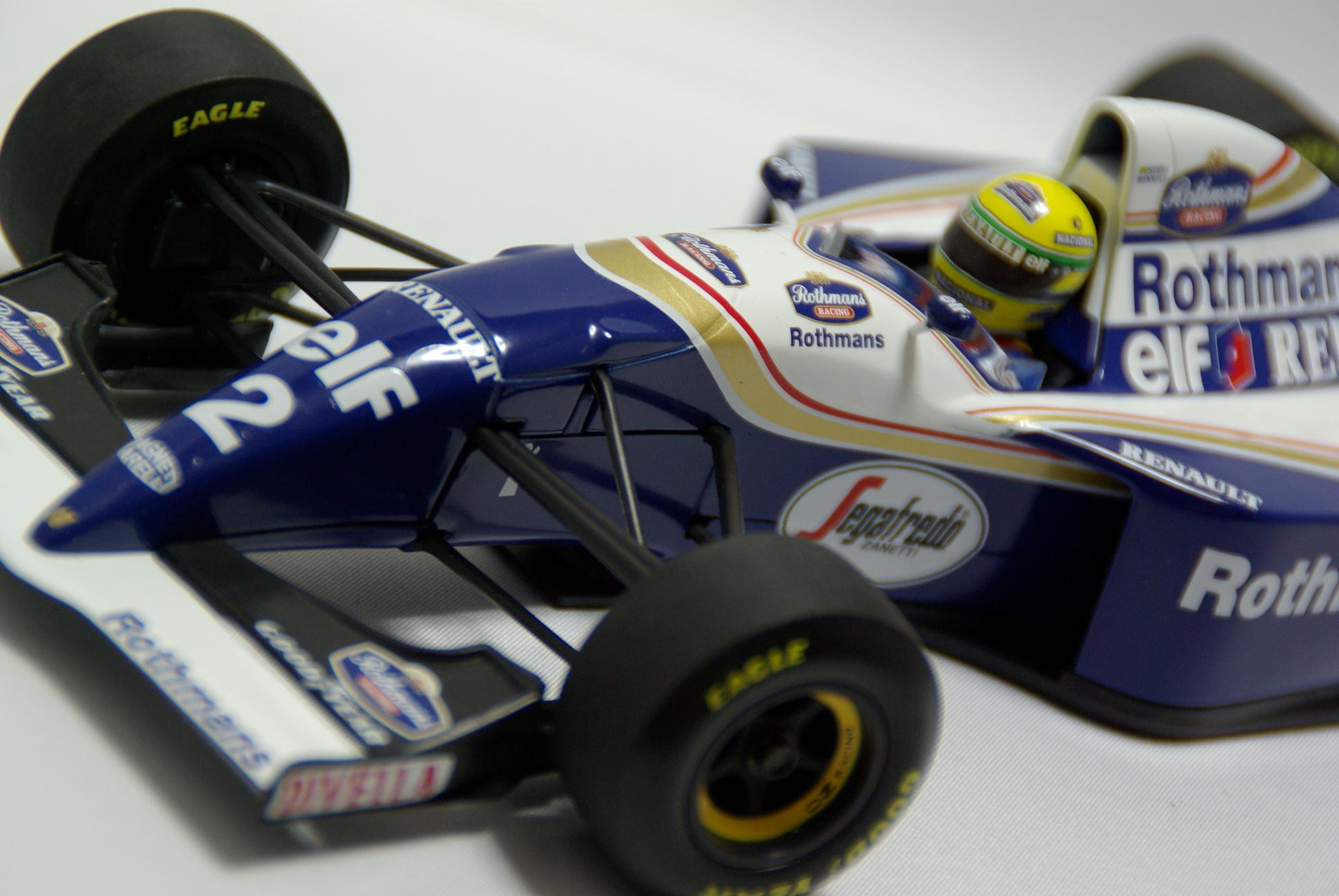 williams fw16 renault a sena koba 39 s garage