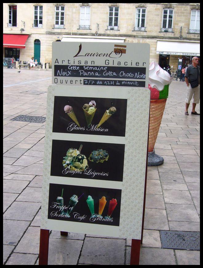 ■ボルドーの新しいアイスクリーム屋_a0014299_8231862.jpg