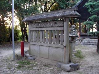 稲沢市島町二ノ宮社の蕃塀_e0113570_23452049.jpg