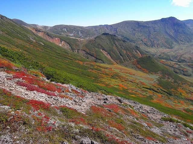 紅葉の平山、ニセイカウシュッペ山、愛別岳等に登る_f0138096_20564755.jpg