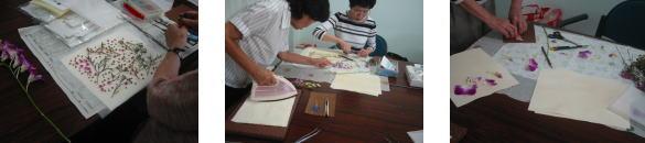 ストレッチ&押し花教室_c0113948_16292543.jpg