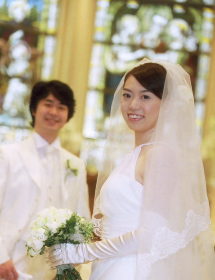 新郎新婦様からのメール バラの舞うドレス セントグレース大聖堂_a0042928_23303028.jpg