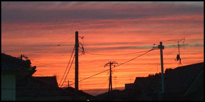 ゆぅ〜や〜けぇ〜こ〜やぁけぇで。。。。日が暮れた。。。_f0119369_1824131.jpg