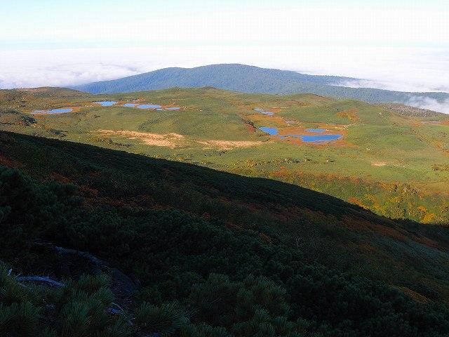 9月18日、愛山渓温泉から永山岳_f0138096_19562251.jpg