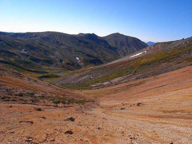 9月18日、永山岳から愛別岳_f0138096_20555178.jpg