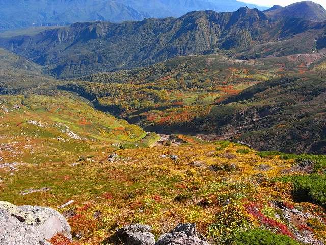 9月18日、永山岳から愛別岳_f0138096_20573143.jpg
