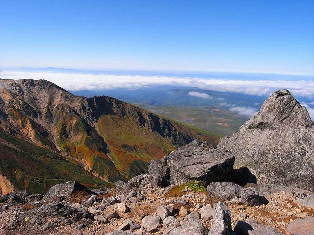 9月18日、永山岳から愛別岳_f0138096_20591252.jpg