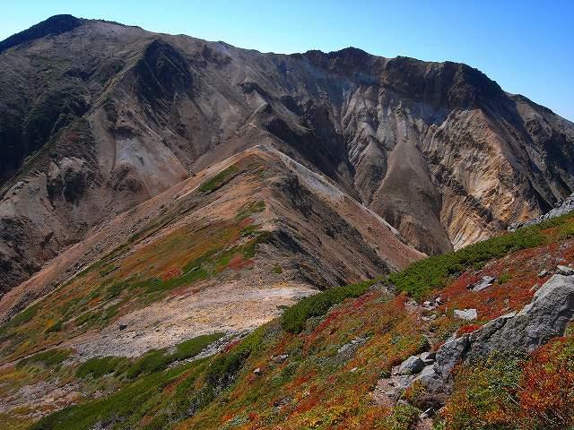9月18日、永山岳から愛別岳_f0138096_20594625.jpg