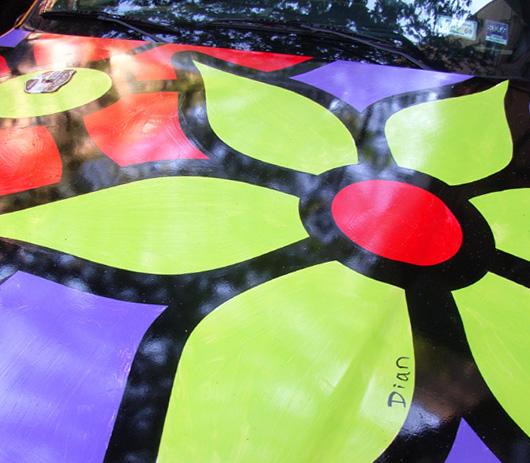 タクシーに描かれた「お花の絵」の話 Garden in Transit_b0007805_10513346.jpg