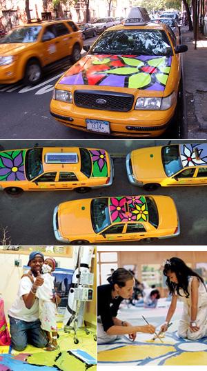 タクシーに描かれた「お花の絵」の話 Garden in Transit_b0007805_10514383.jpg