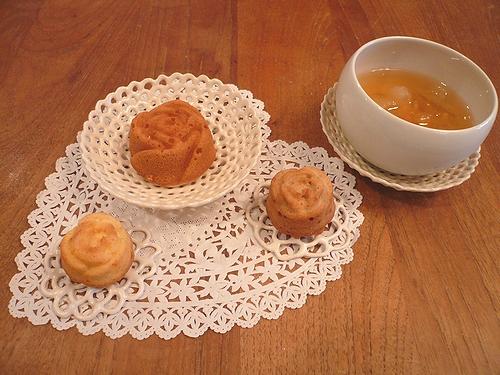 ミニマリアのバラのケーキ..。.゚。*・。♥_a0053662_0384861.jpg