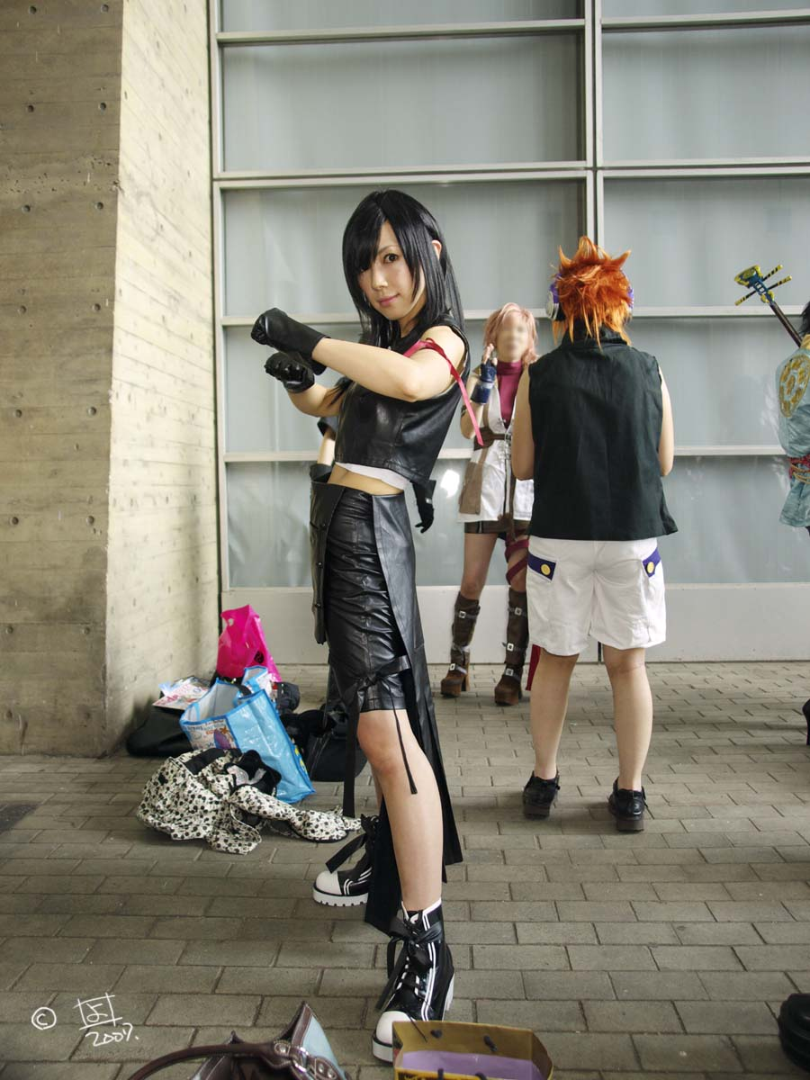 遅くなったが、「TOKYO GAME SHOW 2007」です。_e0096928_2147298.jpg