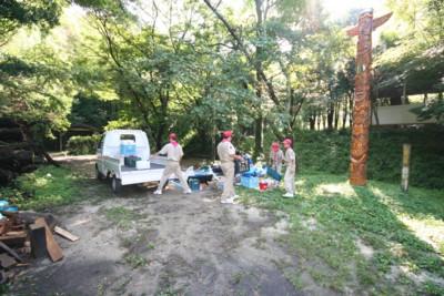 秋のキャンプ♪in脇山野営場_d0082356_1013354.jpg