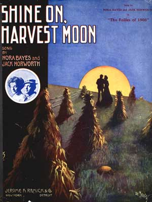 Shine on, Harvest Moon by the New Vaudeville Band_f0147840_3245648.jpg