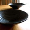 日比野寿美子 盛り鉢(八寸25cm)