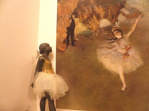 シンクロニシティ Synchronicity 素敵な偶然  Edgar Degas 踊り子のブロンズ像 ..。.゚。*・。♥_a0053662_2142762.jpg