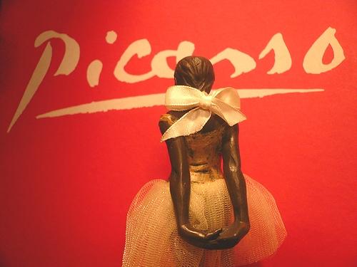 シンクロニシティ Synchronicity 素敵な偶然  Edgar Degas 踊り子のブロンズ像 ..。.゚。*・。♥_a0053662_217465.jpg