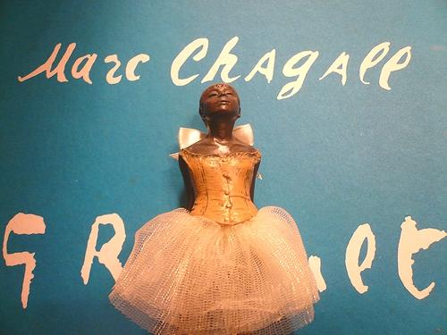 シンクロニシティ Synchronicity 素敵な偶然  Edgar Degas 踊り子のブロンズ像 ..。.゚。*・。♥_a0053662_2212844.jpg